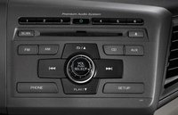 2012 Honda Civic, Close-up of stereo. , manufacturer, interior