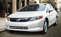 2012 Honda Civic, Front quarter view. , exterior, manufacturer