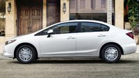 2012 Honda Civic, Side view. , exterior, manufacturer