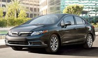 2012 Honda Civic, Front quarter view. , exterior, manufacturer