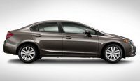 2012 Honda Civic, Side View. , manufacturer, exterior