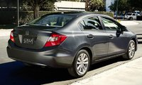 2012 Honda Civic, Back View. , exterior, manufacturer