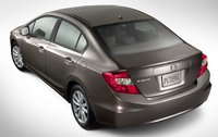 2012 Honda Civic, Back quarter view. , exterior, manufacturer, gallery_worthy