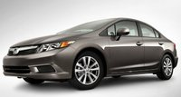2012 Honda Civic, Front quarter view. , exterior, manufacturer, gallery_worthy
