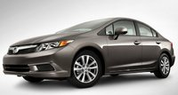 2012 Honda Civic, Front quarter view. , manufacturer, exterior
