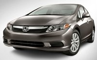 2012 Honda Civic, Front View. , exterior, manufacturer