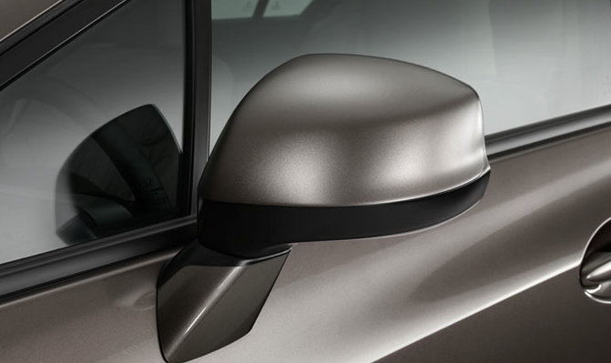 2012 Honda Civic, Close-up of side mirror. , manufacturer, exterior