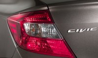 2012 Honda Civic, Close-up of tail light. , exterior, manufacturer
