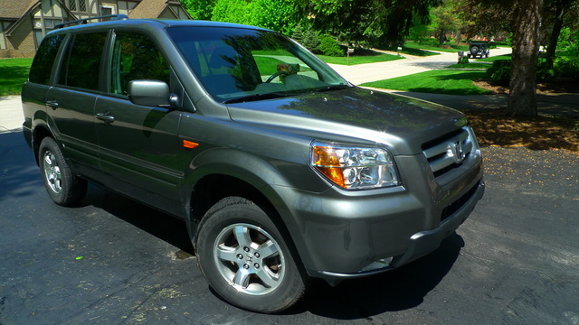 Picture Of 2007 Honda Pilot 4 Dr EX L 4X4, Exterior, Gallery_worthy