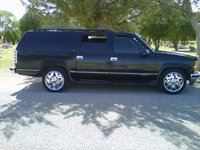 1996 Chevrolet Suburban, my new ride, exterior