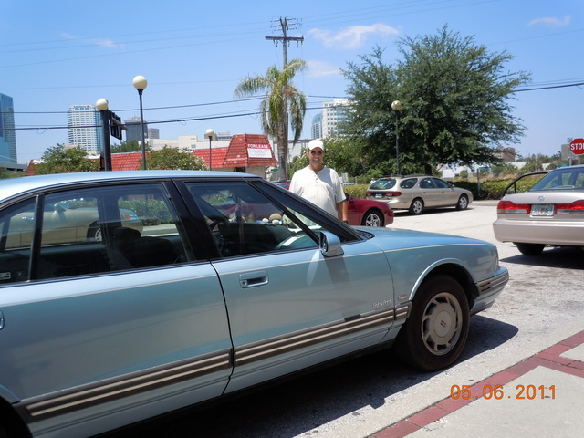 1993 Oldsmobile Eighty-Eight Royale 4 Dr STD Sedan, at the national train day in tampa fl, exterior, gallery_worthy