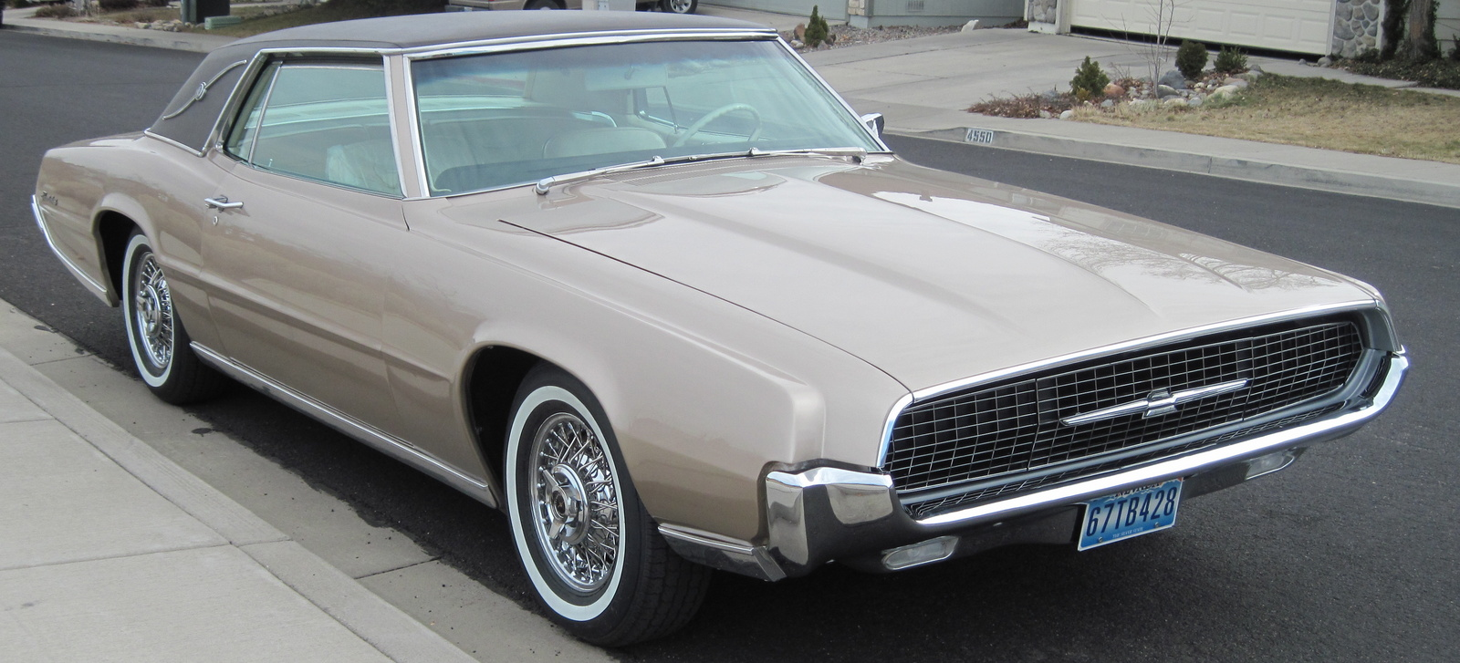 Ford thunderbird 1967 picture 2 of 2 front angle image - Filename Pic 9064726878334996798 Jpeg