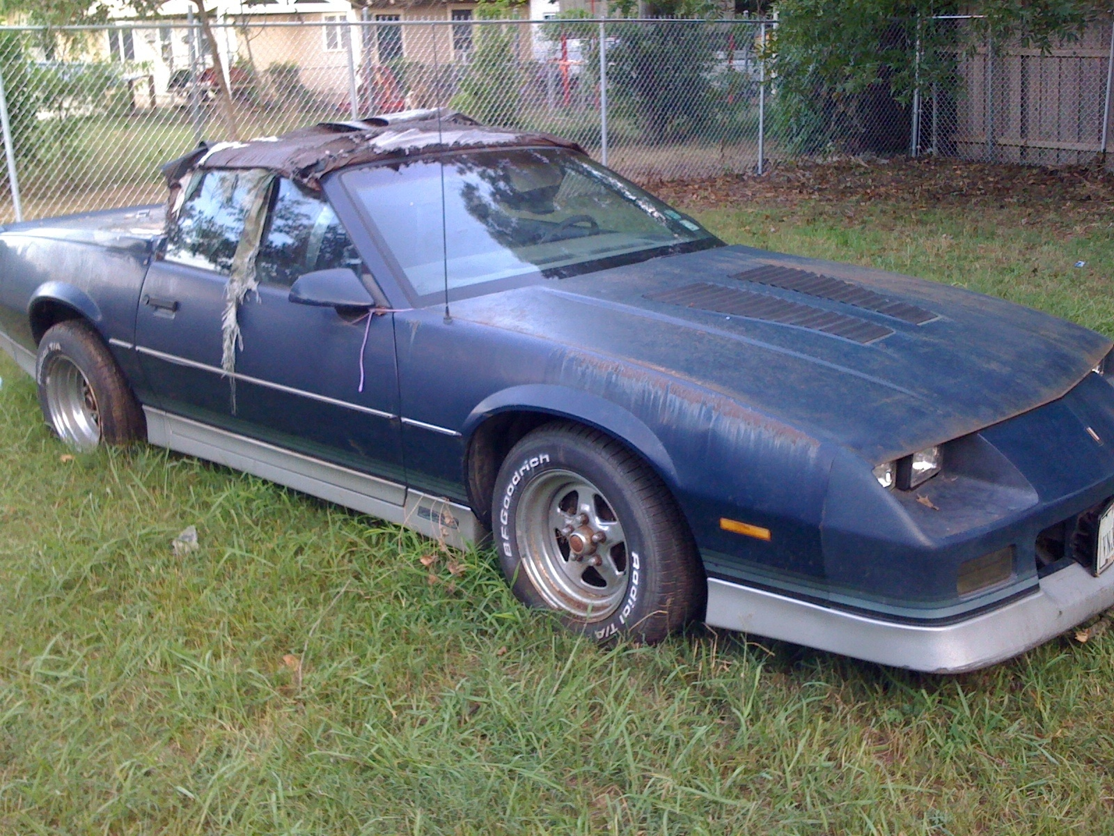 Chevrolet Camaro Questions I Have A 1985 Z28 V8 4 Barrel