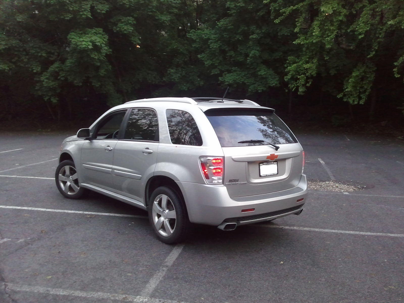 picture of 2008 chevrolet equinox sport exterior. Cars Review. Best American Auto & Cars Review