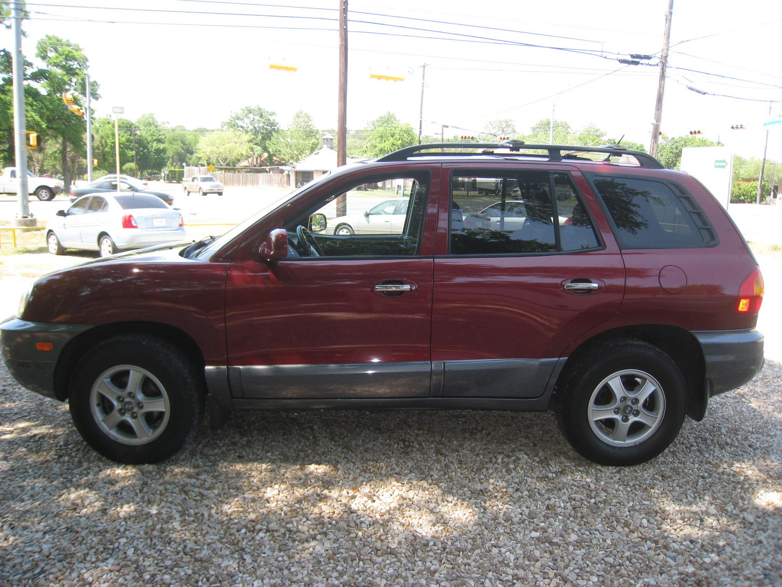 picture of 2004 hyundai santa fe lx awd exterior. Black Bedroom Furniture Sets. Home Design Ideas