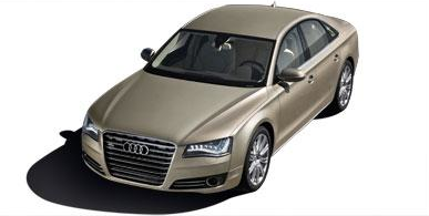 2012 Audi A8; Copyright Nada Guides.