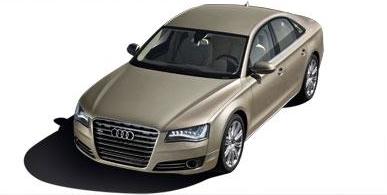 2012 Audi A8; Copyright Nada Guides.