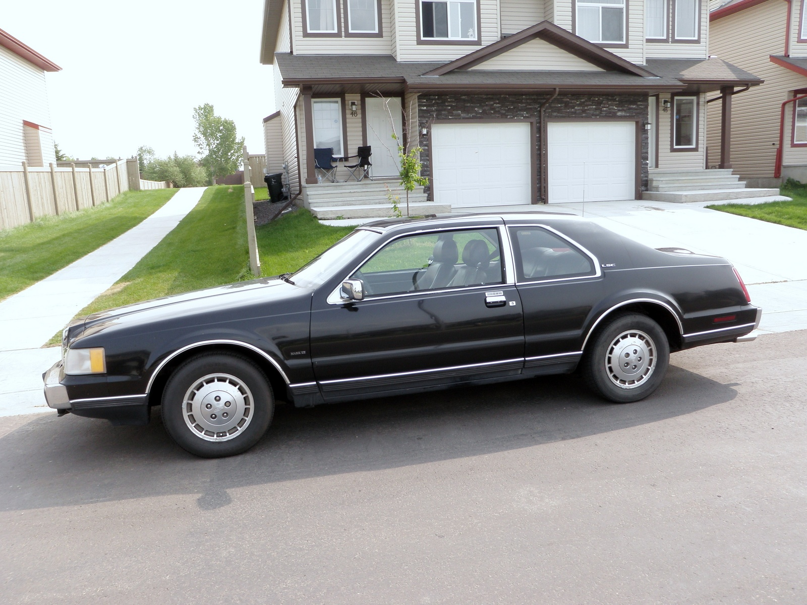 1987 lincoln mark vii overview cargurus. Black Bedroom Furniture Sets. Home Design Ideas