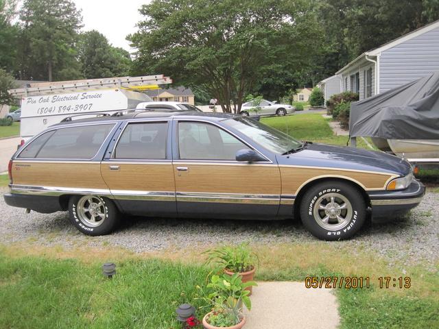 1996 Buick Roadmaster 4 Dr Estate Wagon, my roadmaster wagon, exterior