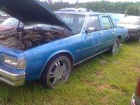 1990 Chevrolet Caprice Classic Brougham, impala, exterior