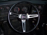 1973 Chevrolet Monte Carlo, i added the factory tac and gauges, interior