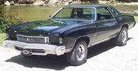 1973 Chevrolet Monte Carlo, 73 factory 454 monte.almost every option., exterior