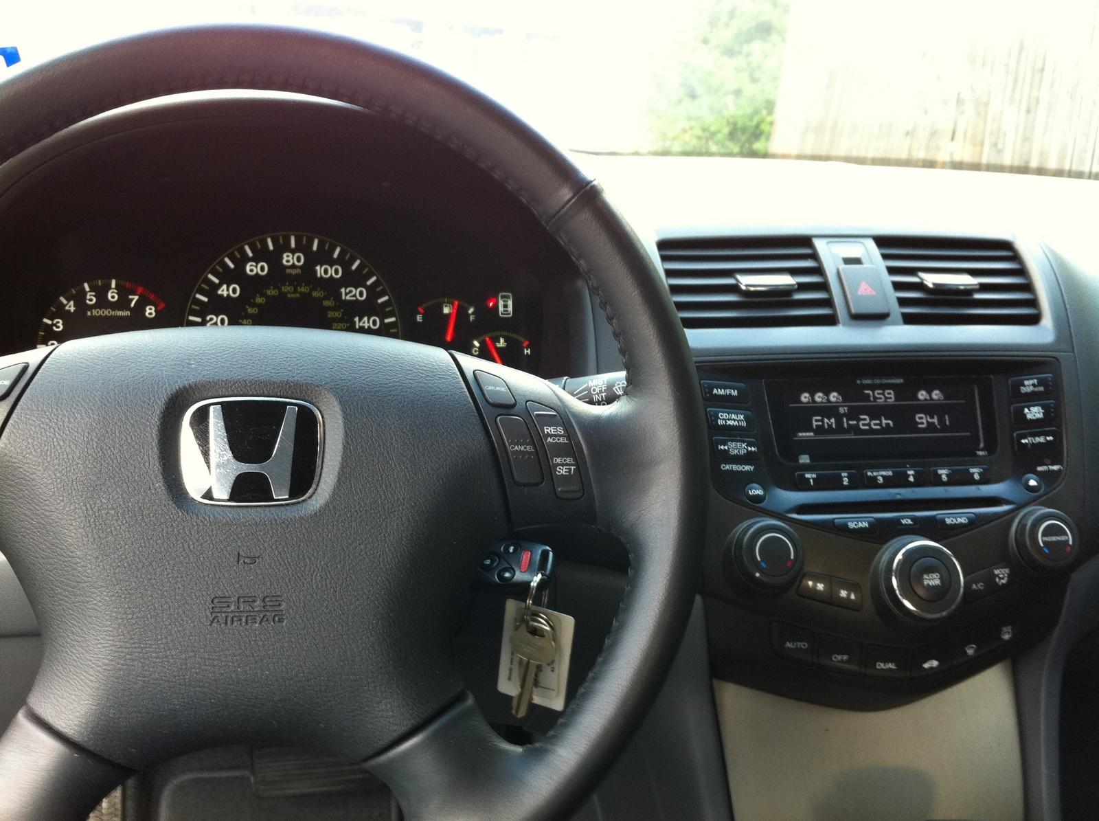2006 Honda Accord Interior Pictures Cargurus