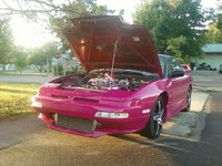 1990 Nissan 240SX 2 Dr SE Hatchback, to present day... late 2010, exterior, engine