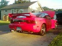 1990 Nissan 240SX 2 Dr SE Hatchback, Hot Pink @$$., exterior