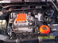 Picture of 1992 Chevrolet Cavalier Z24 Convertible FWD, engine, gallery_worthy