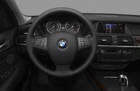 2012 BMW X5, Close-up of steering wheel copyright AOL Autos. , interior