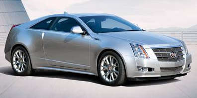 2012 Cadillac CTS Coupe, Front quarter view copyright Nada Guides. , exterior