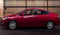 2012 Hyundai Accent, Side view. , exterior, manufacturer