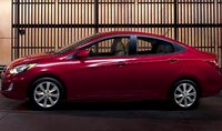 2012 Hyundai Accent, Side view. , exterior, manufacturer