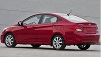 2012 Hyundai Accent, Back quarter view. , exterior, manufacturer