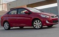 2012 Hyundai Accent, Front quarter view. , exterior, manufacturer