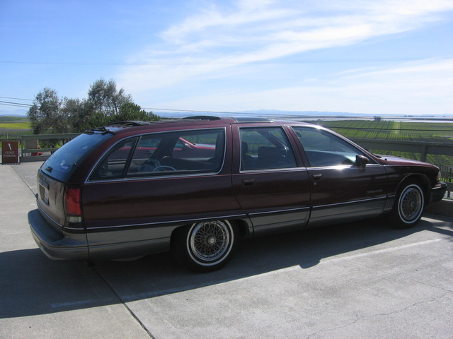 Picture of 1991 Oldsmobile Custom Cruiser 4 Dr STD Wagon, exterior, gallery_worthy