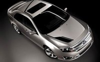 2012 Ford Fusion, Aerial View. , manufacturer, interior