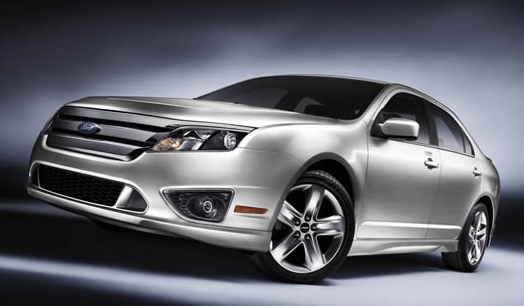 2012 Ford Fusion, Front quarter view. , exterior, manufacturer