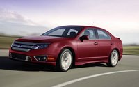 2012 Ford Fusion, Front quarter view. , manufacturer, interior