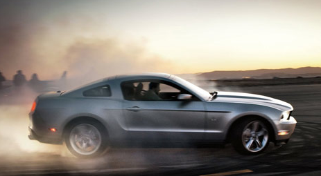 2012 Ford Mustang, Side View. , exterior, manufacturer