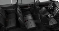 2012 Ford Flex, Front and back seats. , interior, manufacturer