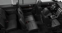 2012 Ford Flex, Front and back seats. , manufacturer, interior