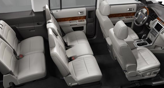 2012 Ford Flex, Front and back seats., interior, manufacturer