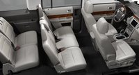 2012 Ford Flex, Front and back seats., manufacturer, interior