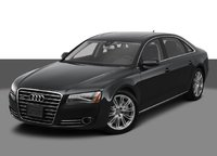 2012 Audi A8 L, Front Left Quarter View, exterior, manufacturer, gallery_worthy
