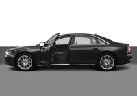 2012 Audi A8 L, Left Side View, exterior, interior, manufacturer, gallery_worthy