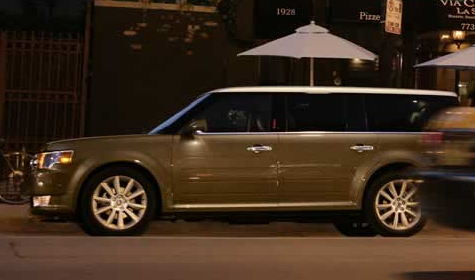 2012 Ford Flex, Side View. , manufacturer, exterior