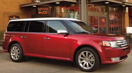 2012 Ford Flex, Front quarter view. , exterior, manufacturer