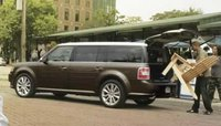 2012 Ford Flex, Back View. , exterior, manufacturer